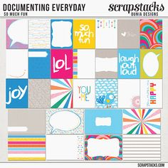Documenting Everyday (So Much Fun) by Dunia Designs