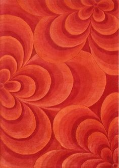 Alliyah Flowers Red Area Rug