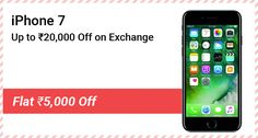 Apple I Phone 7, Mobile Deals, Rs 5, Ios Phone, Shopping Day, Windows Phone, Discount Coupons, Dual Sim, December
