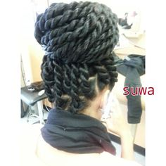 Havana Twists Different Hairstyles, Cute Hairstyles, Braided Hairstyles, Wedding Hairstyles, Braided Updo, Natural Hair Tips, Natural Hair Styles, Twist Cornrows, Havana Twists