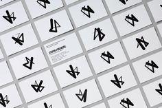 Konserthuset Stockholm by Kurppa Hosk, Sweden. #branding #businesscards