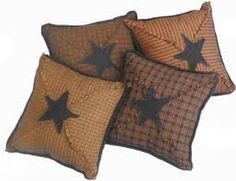 Comfortable and SoftenDecoration with Country Throw Pillows: Primitive Throw Pillows ~ virtualhomedesign.net Pillows Inspiration