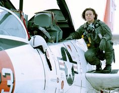First Lt. Keri Lynn Schubert is the  first woman Marine selected for  naval flight officer duty in the F/A- 18D Hornet. (1997)