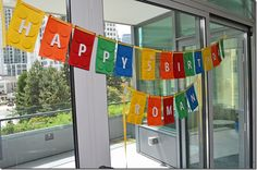 Lego Birthday Party - Banner