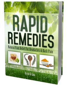 Free Book Rapid Remedies : Natural Pain Relief for Headaches & Back Pain - DHA Healthcare
