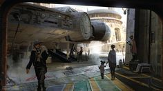 Star Wars Land, Disneyland and Disney's Hollywood Studios