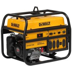 DEWALT Gasoline Powered Manual Start Portable Generator with Honda Engine is designed with the professional contractor or rental operator in mind. Inverter Generator, Portable Generator, Power Generator, Gas Generator, Commercial Generators, Brick Laying, Dewalt Tools, Fire Pit Seating, Beige Cushions