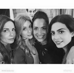 """""""Mother-Daughter with photo-bomber in background ➰ #ShadowhuntersSeason2"""""""