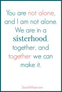 Sisterhood!