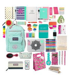 """School is coming!!"" by bows-and-anchors ❤ liked on Polyvore"