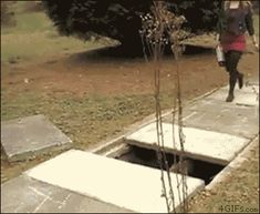 Jokes of the day - Google+ - #Girl jump over hole #fail - Yep this is just so me......