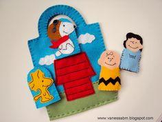 Vanessa Biali: Kit Dedoches Snoopy
