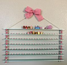 Shopkins display shelves