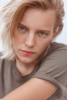 A flushed lip is the lip of summer—as shown here on model and actress Erika Linder.