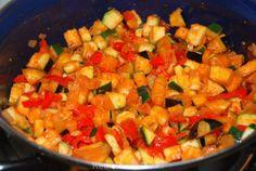 Ratatouille Salsa, Veggies, Ethnic Recipes, Food, Camping, Tomatoes, Campsite, Salsa Music, Vegetable Recipes