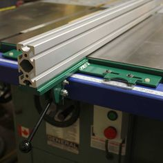 Turbo Charge Your Table Saw with the VerySuperCool Tools T-square Fence System with Machined Aluminum Extrusion.