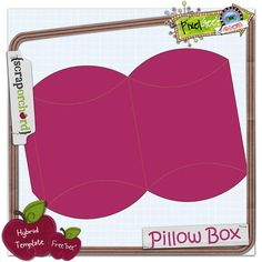 #free pillow box #template