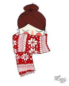 Illustration by Nan Lawson, as seen on Las Teje y Maneje blog
