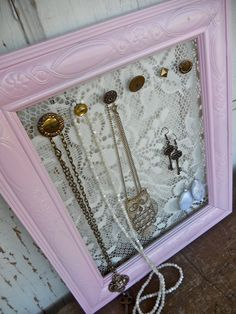 Jewelry Organizer by Humble Bee Project- the original Vintage Flair Jewelry Display Designer