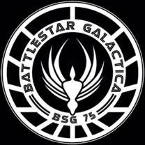 #battlestargalactica #popfunk  http://www.popfunk.com/mens-tees/battlestar-galactica/battlestar-galactica-new-series/bsg-galactica-badge.html