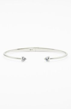 Nadri 'Arrow' Cubic Zirconia Station Cuff available at #Nordstrom
