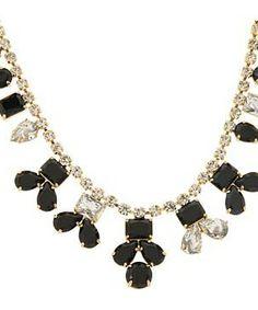 Kate Spade New York Secret Garden Necklace #accessories  #jewelry  #necklaces  https://www.heeyy.com/suggests/kate-spade-new-york-secret-garden-necklace-jet-clear/