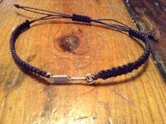 Purple Arrow Bracelet by BeccasjamsandCrafts on Etsy https://www.etsy.com/listing/232802690/purple-arrow-bracelet
