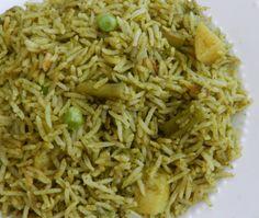 கொத்தமல்லி புலாவ் Coriander Pulao Recipe in Tamil