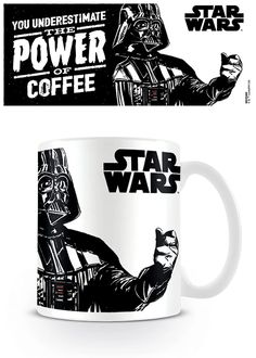 Come visit Music and Movie Gear now, we're number one for memorabilia of your favourite music and films in Cowes. Taza Star Wars, Mug Star Wars, Star Wars Dark, Star Wars Fan Art, Darth Vader, Cafe Geek, Coffee Gifts, Coffee Mugs, Star Wars Desenho