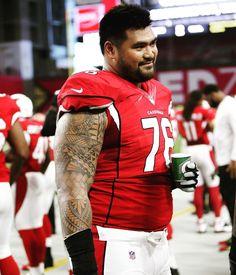 NFL Jersey's Pro Line Mens Arizona Cardinals Mike Iupati Team Color Jersey