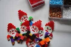 Gnomes hama beads by Mor Med Mere