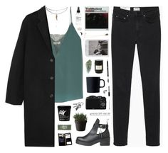 """""""{498}"""" by oliviarose-i ❤ liked on Polyvore featuring Bailey 44, ASOS, Mad et Len, Acne Studios, Royal Doulton, Anastasia Beverly Hills, CO, Bobbi Brown Cosmetics, Muuto and Royce Leather"""
