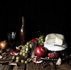 Pratos e Travessas: Radiatori com frango e molho de pimento assado e azeitonas # Radiatori with chicken and roasted red pepper and olives sauce