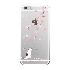 Aliexpress.com : Buy For iPhone 4S 5S 6S 6Plus 7Plus 7 SE 5C Samsung Galaxy Koi Fish Cherry Blossom Lucky Cat Japanese Pattern Soft Clear Phone Case from Reliable case transparent suppliers on World Design Phone Accessories