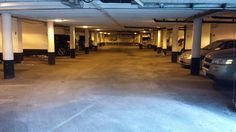 21 Rochfort Drive, Flemmingdon area, Toronto, Ontario underground parking lot.