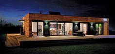 maison ossature bois archi-design en Alsace,