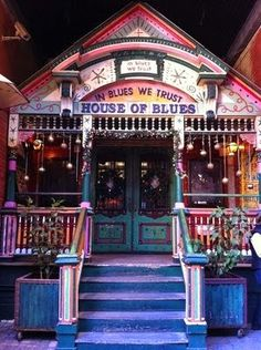 House of Blues, New Orleans live music and special events venue--Sam and UALR Pep band played here last week! New Orleans Vacation, New Orleans Travel, Nola Vacation, New Orleans Bars, New Orleans Music, Mardi Gras, Nevada, Mississippi, New York City