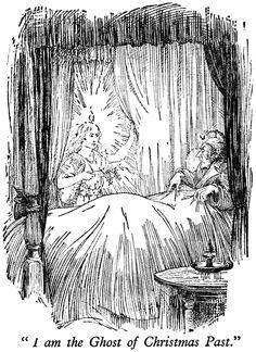 A Christmas Carol Ghost Of Christmas Past Drawing