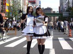 """Akihabara"" Sissy Maids, Maid Cosplay, Maid Uniform, Beautiful Japanese Girl, Maid Outfit, French Maid, Japanese Street Fashion, Gyaru, Crossdressers"