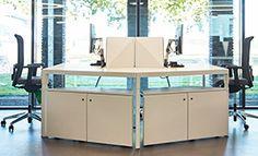 Bureaus, desks uit onze Trigon lijn. Workplace, Desk, Modern, Kitchen, Home Decor, Desktop, Trendy Tree, Cooking, Decoration Home