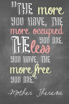 31 Days of Less & More--Day 31: Less Coming In. Join this month long, life-changing challenge to fill your life with less heartache but more joy, less stress but more peace, and less stuff but more contentment.