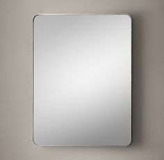 """***MASTER BATHROOM ~ Restoration Hardware, Bristol Flat Mirror 40"""" x 30"""" Polished Nickel (Other finishes; other sizes) $550 on special. (Check Uttermost and with Crest Lighting.)"""