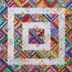 Red Pepper Quilts: Search results for Scrappy log cabin