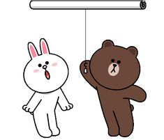 The perfect ILoveYou Cony Brown Animated GIF for your conversation. Cute Bunny Cartoon, Cute Couple Cartoon, Cute Cartoon Characters, Cute Love Cartoons, I Love You Funny, Love You Gif, Cute Love Gif, My Love, Calin Gif