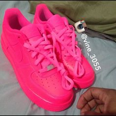 Nike - Custom Nike Air Force ones low top from Abena's closet on ...