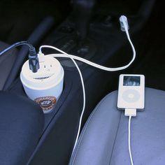 Coffee Cup Power Inverter via ThinkGeek