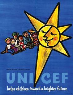 A UNICEF poster circa 1965.