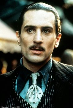 De Niro went on to win an Oscar for his portrayal as the young Vito Corleone in The Godfather Part Two