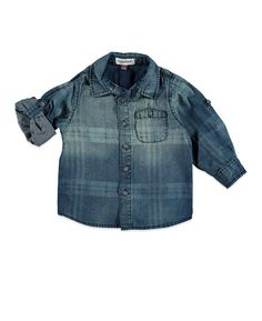 Babyface dreumes jongens T-shirt 0 Denim Button Up, Button Up Shirts, Tops, Fashion, Moda, La Mode, Chemises, Shell Tops, Fasion
