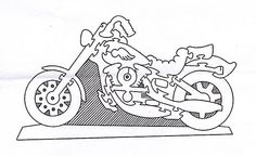 harley davidson jigsaw puzzle solution  http://www.craftypuzzles.com/solutions.htm